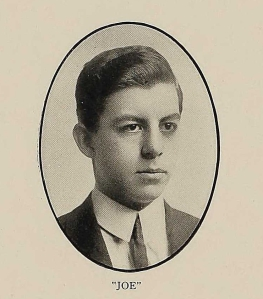 Vidal's portrait from the 1912 RPI Yearbook, p. 116.