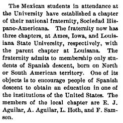 From the Iowa Alumnus, Vol. III, No. 9, June 1906