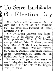 from the El Paso Herald Post, February 22, 1935, p. 13